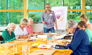 arts workshop for oldies